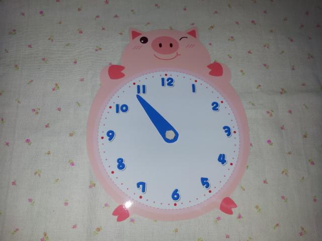 시계판 ▶ 시침
