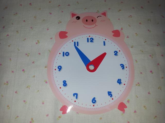 시계판 ▶ 시침▶ 분침